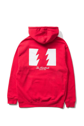 The Hundreds Forever Wildfire Pullover Hoodie Red Back