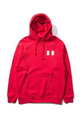The Hundreds Forever Wildfire Pullover Hoodie Red Front