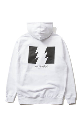 The Hundreds Forever Wildfire Pullover Hoodie White Back