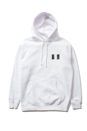 The Hundreds Forever Wildfire Pullover Hoodie White Front