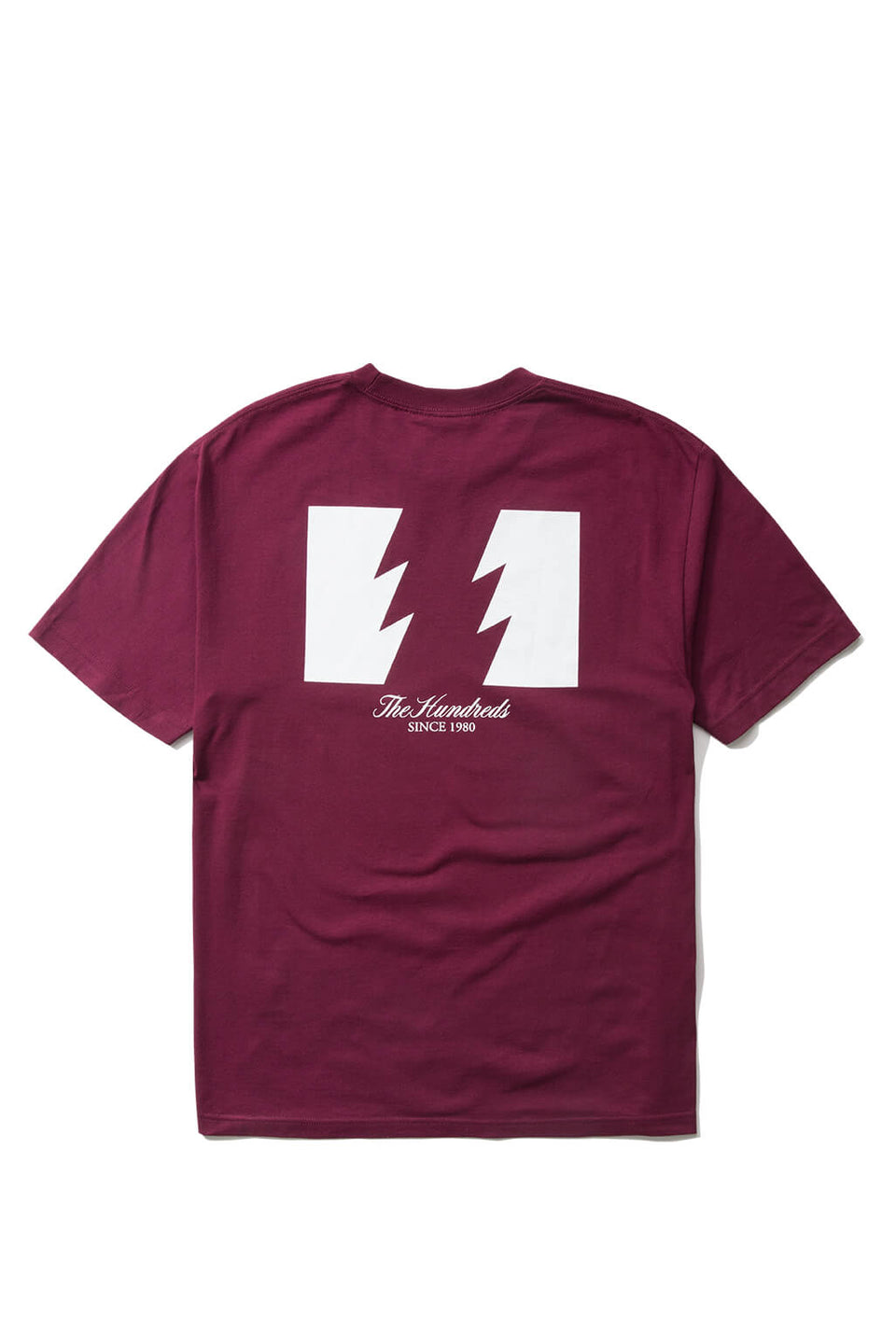 The Hundreds Forever Wildfire T-Shirt - Burgundy