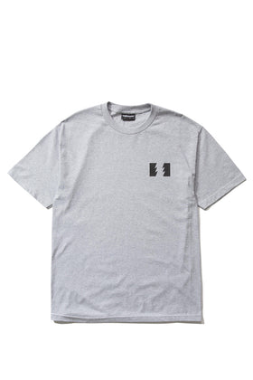 The Hundreds Forever Wildfire T-Shirt - Athletic Heather Grey