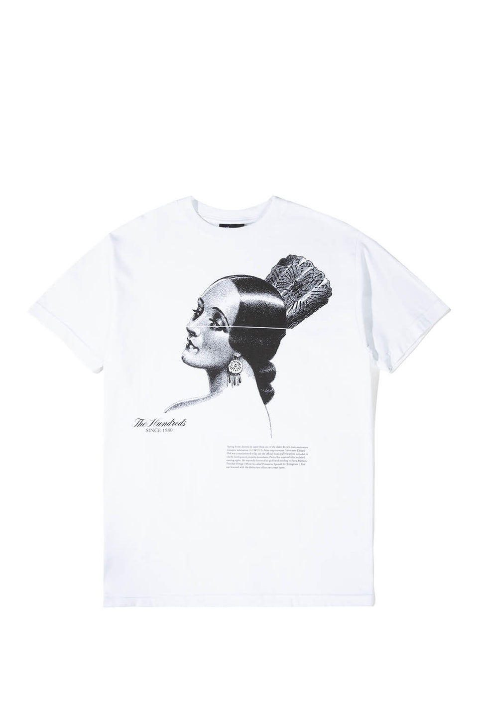 The Hundreds Primavera T-Shirt White