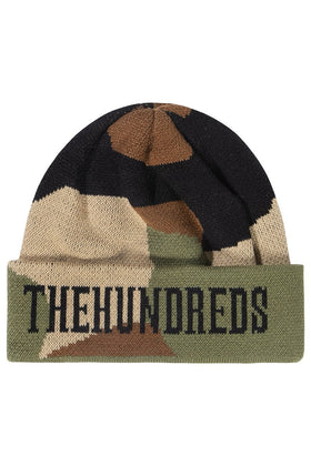 The Hundreds Turner Beanie HEADWEAR Camo