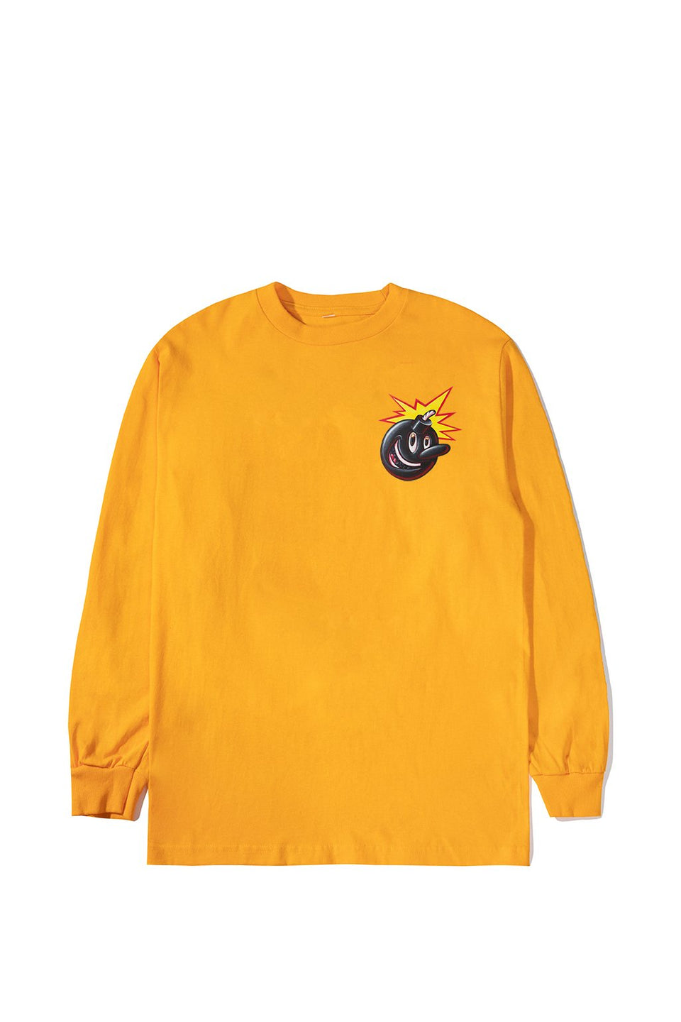 The Hundreds Adam Kenny L/S Shirt Gold