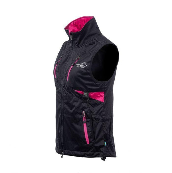 Acadia Training Vest (Black/Pink) - Arrak USA - Active Lifestyle Clothing