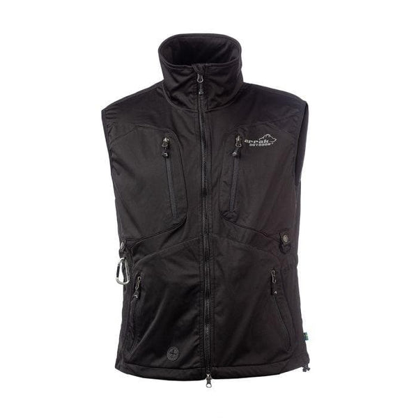 Acadia Training Vest - (Black) - Arrak USA - Active Lifestyle Clothing