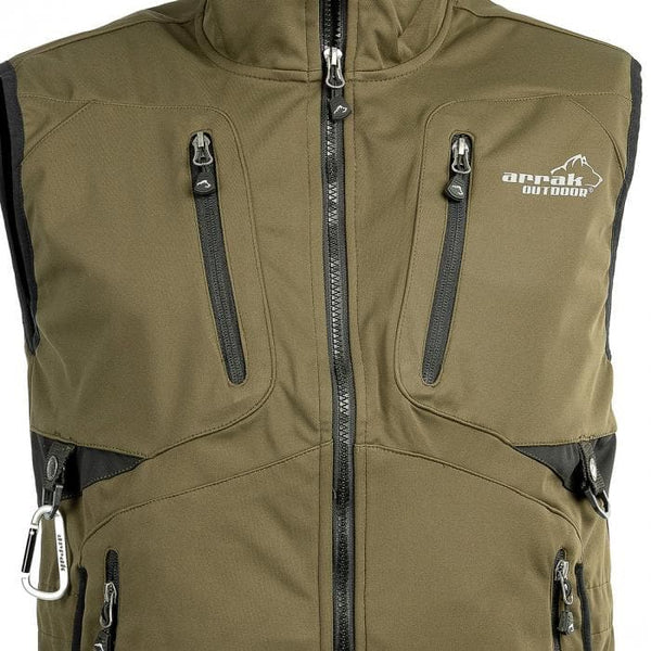 Acadia Training Vest - (Olive) - Arrak USA - Active Lifestyle Clothing