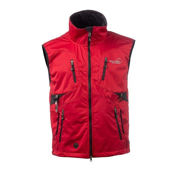 Acadia Training Vest - (Red) - Arrak USA - Active Lifestyle Clothing