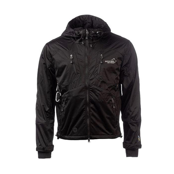 AKKA Softshell Jacket - (Black) - Arrak USA - Active Lifestyle Clothing