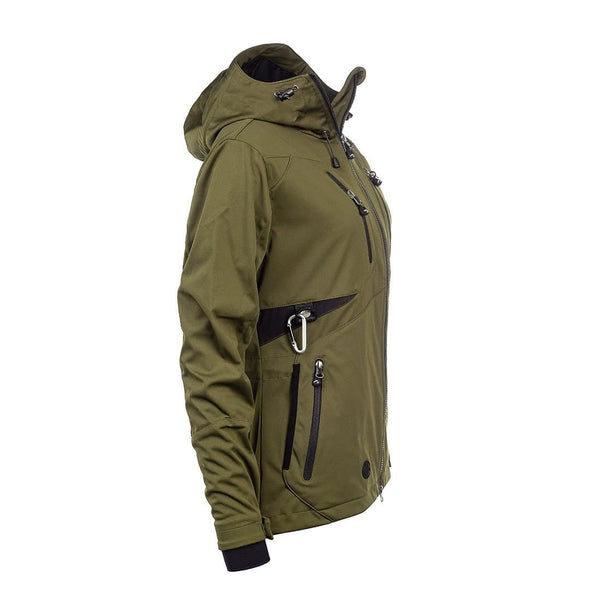 AKKA Softshell Unisex Jacket (Olive) - Arrak USA - Active Lifestyle Clothing