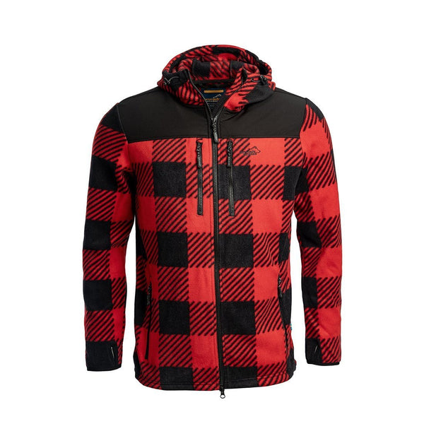 Canada Unisex Fleece Jacket (Red)