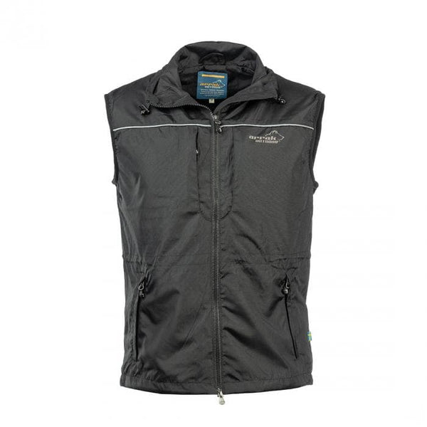 Jumper Vest  (Black) - Arrak USA - Active Lifestyle Clothing