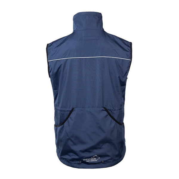 Jumper Vest  (Navy) - Arrak USA - Active Lifestyle Clothing