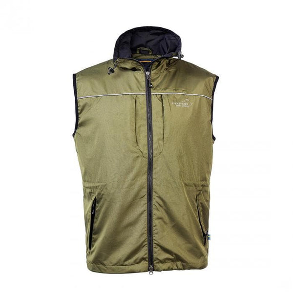 Jumper Vest (Olive) - Arrak USA - Active Lifestyle Clothing