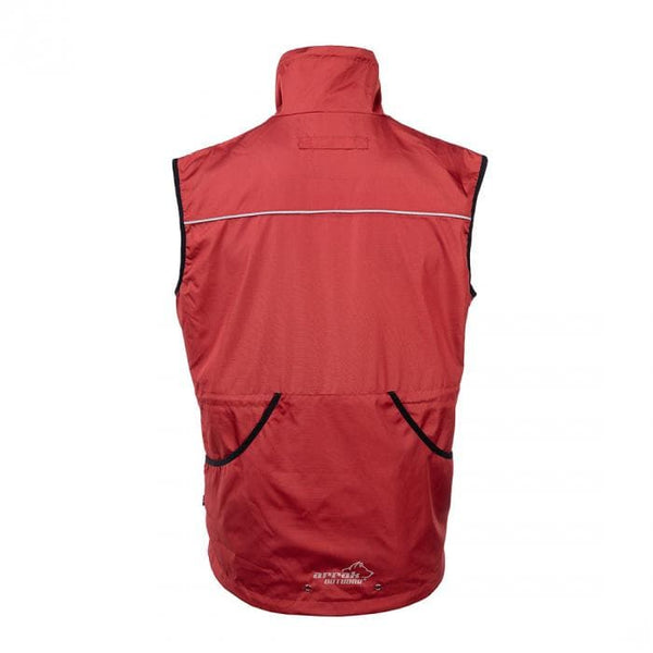 Jumper Vest  (Red) - Arrak USA - Active Lifestyle Clothing