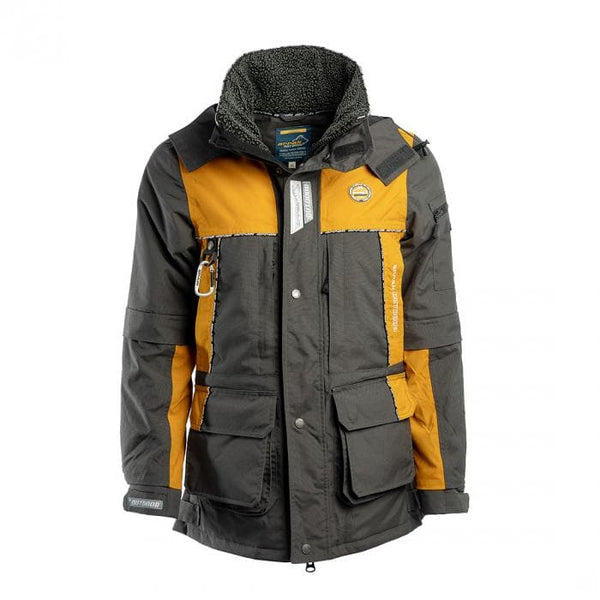 Original Winter Jacket (Orange/Gray)