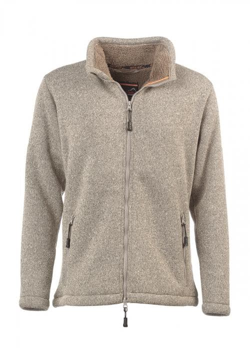 Pile Fleece Lady Zip-Up (Gray Melange)