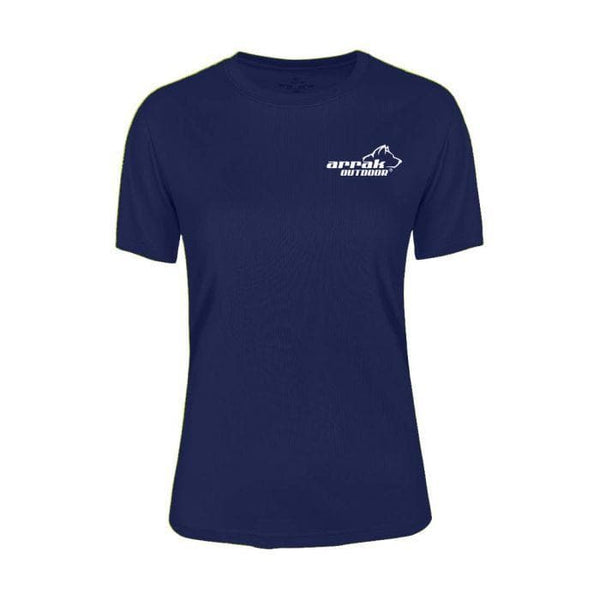 Pro 99 Women's Top  (Navy) - Arrak USA - Active Lifestyle Clothing