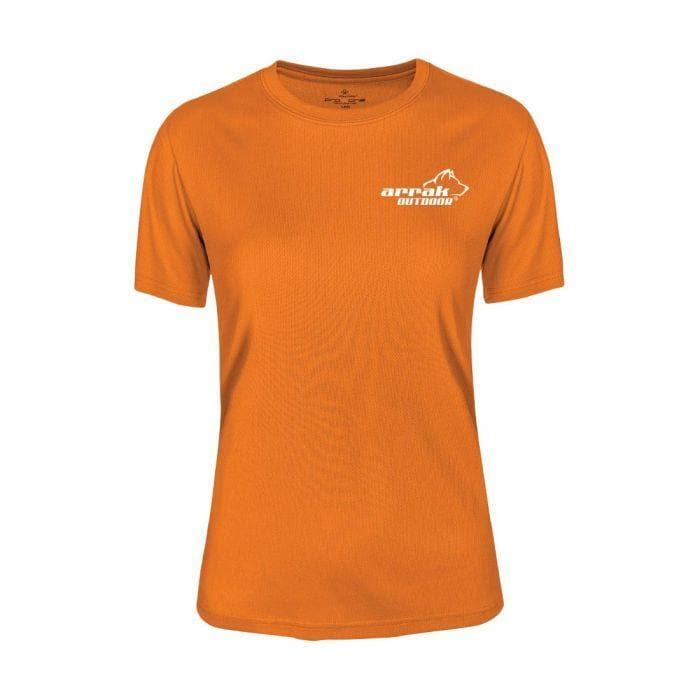 Pro 99 Women's Top (Orange) - Arrak USA - Active Lifestyle Clothing