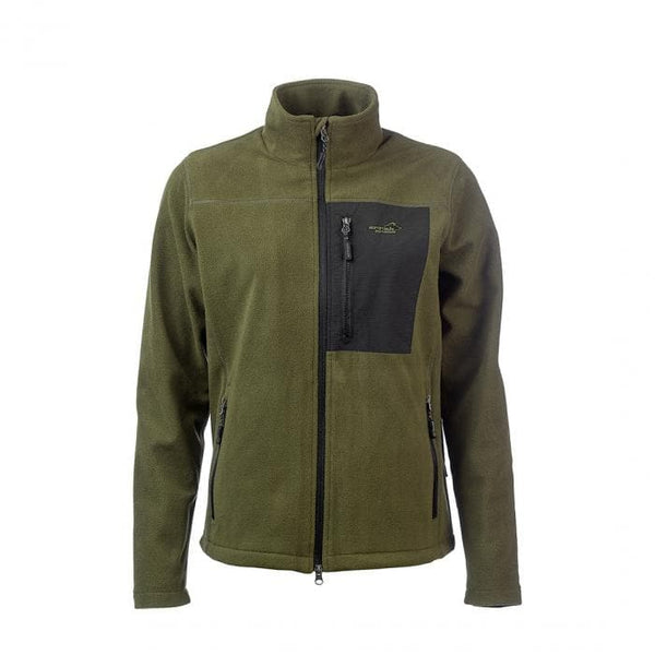 Stormy Fleece Men's Jacket (Green) - Arrak USA - Active Lifestyle Clothing