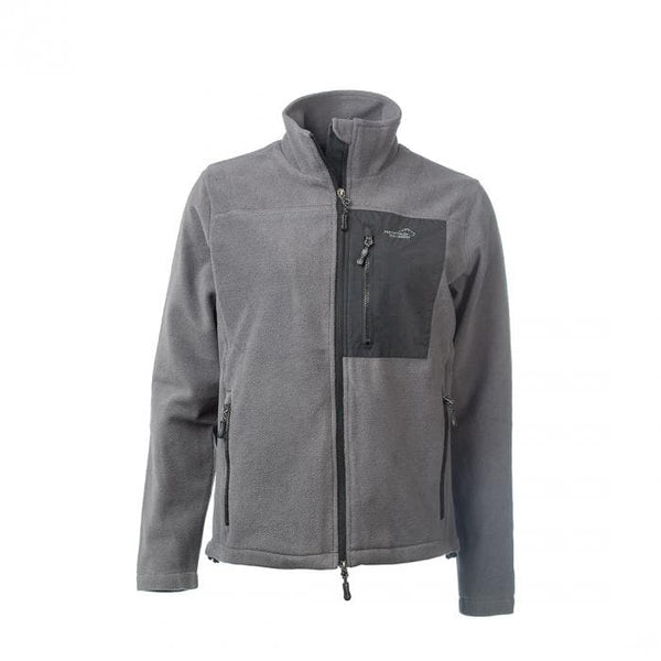 Stormy Fleece Men's Jacket Men (Gray) - Arrak USA - Active Lifestyle Clothing