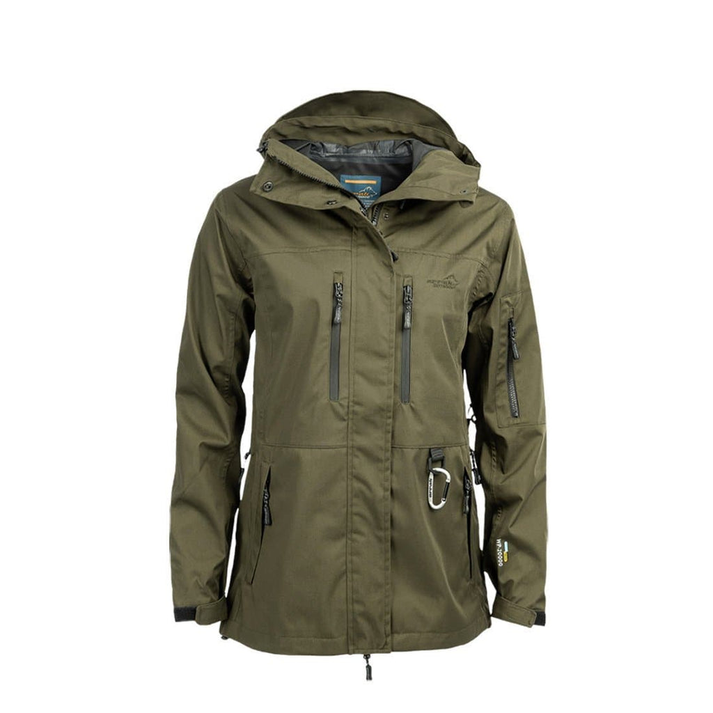 Summit Jacket Lady (Olive) - Arrak USA - Active Lifestyle Clothing