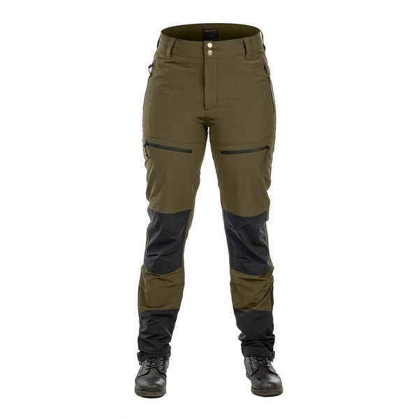 Women's Performance Pants (Olive) - Arrak USA - Active Lifestyle Clothing