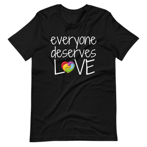 EVERYONE DESERVES LOVE