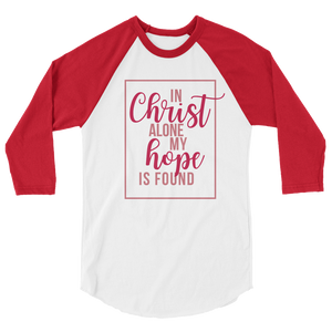 MY HOPE IS FOUND | raglan shirt