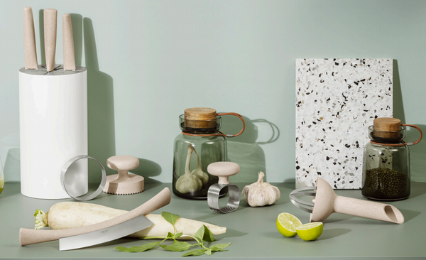 New sustainable kitchen utensils by Eva Solo