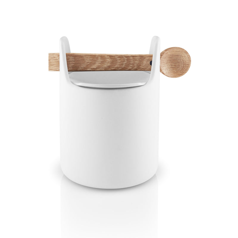 Toolbox Tall w/ Spoon & Lid - White