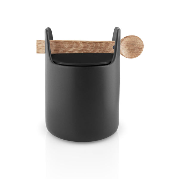 Toolbox Tall w/ Spoon & Lid - Black