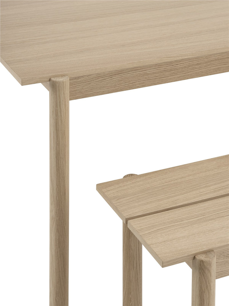 Linear Wood Table 2600x900