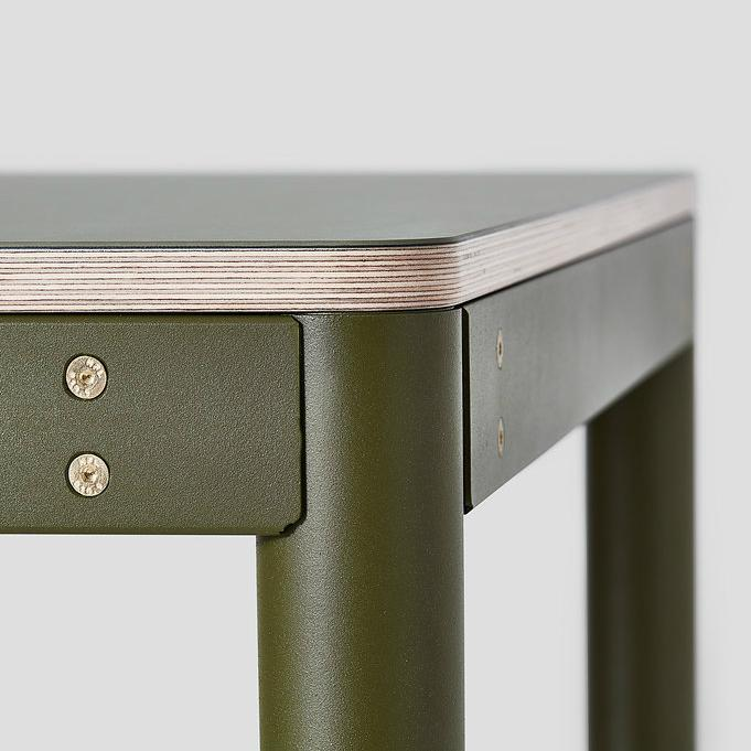 Metal Dowel Table