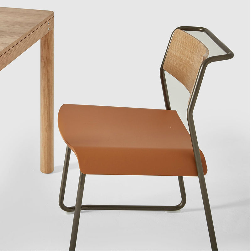 Canteen Utility Chair / Upholstered