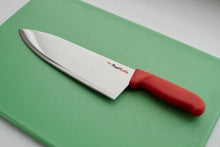 "10"" chef's knife - The chef's knife does the most prep work in a kitchen. Chopping vegetables, mincing herbs, breaking down meat and more, the chef's knife is an all-purpose blade. For those that prefer a bit more heft in a knife, the 10"" chef is the right tool."