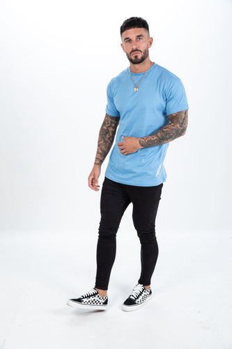 Elare London T-shirt - Sky Blue