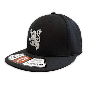 New Scotland Lion Fitted Hat in Navy/White