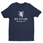 100% Cotton New Scotland T-Shirt in Navy