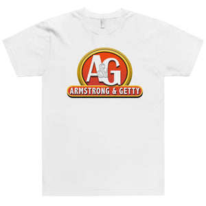 The A&G Ketchup & Mustard Logo Men's T-Shirt