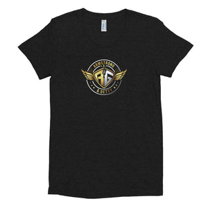 A&G Air Force Women's Crew Neck T-shirt