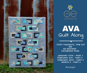 Let's get this AVA Quilt Along started!