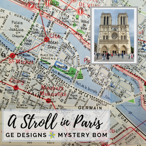 A Stroll in Paris Mystery BOM Blocks 1 & 2