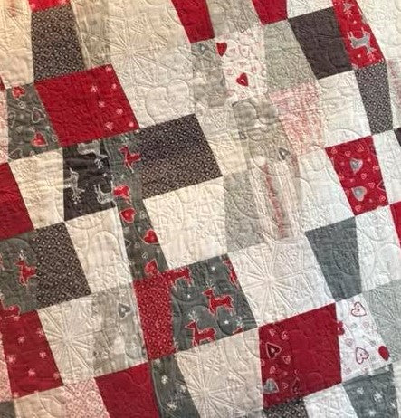 GE Designs Fraction Quilt