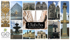 A Stroll in Paris Mystery BOM Fabric Finder