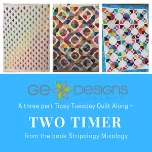 Two Timer Quilt Along from Stripology Mixology