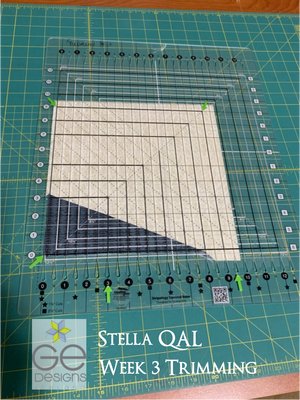 Stella QAL Week #3 Trimming
