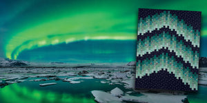 Aurora from Quilts Of Iceland