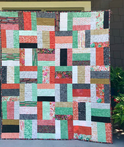 "Diana - Quilt from 10"" squares"